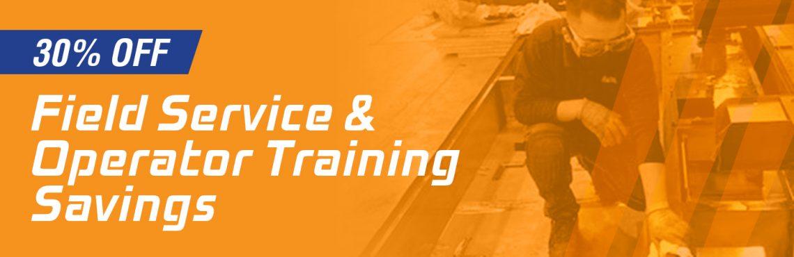 Niigata Field Service & Operator Training Savings